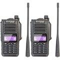 2 UNIDS NUEVO Profesional Impermeable Walkie Talkie BAOFENG BF-A58 Con SOS FM Estación de Radio de Jamón de Radio de Dos Vías Transceptor