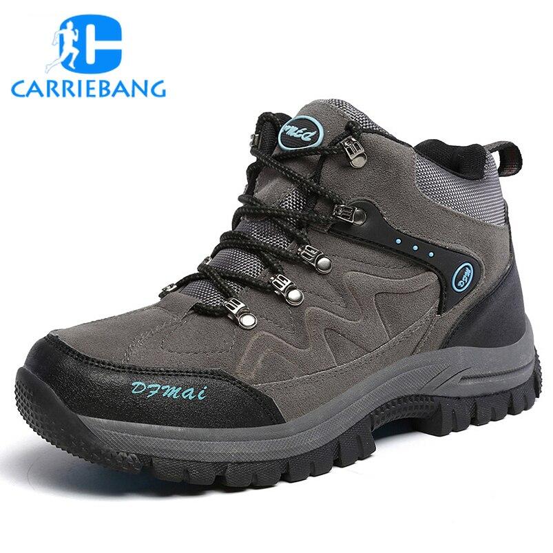 Grande Taille 39-48 Garder Au Chaud Hiver Sneakers pour Hommes chaussures de Marche En Plein Air Sportif Homme Sneakers résistant à l'usure chaussures de marche