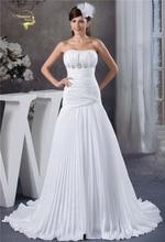 Jeanne Love Taffeta Wedding Dresses Zipper With Train 2019 New Arrival Robe De Mariage JLOV75987 Vestido Noiva