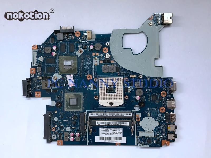 Nokotion For Acer Aspire 5750 5750g Motherboard Mbbyj02001 Mbraz02003 P5we0 La 6901p S989 Hm65