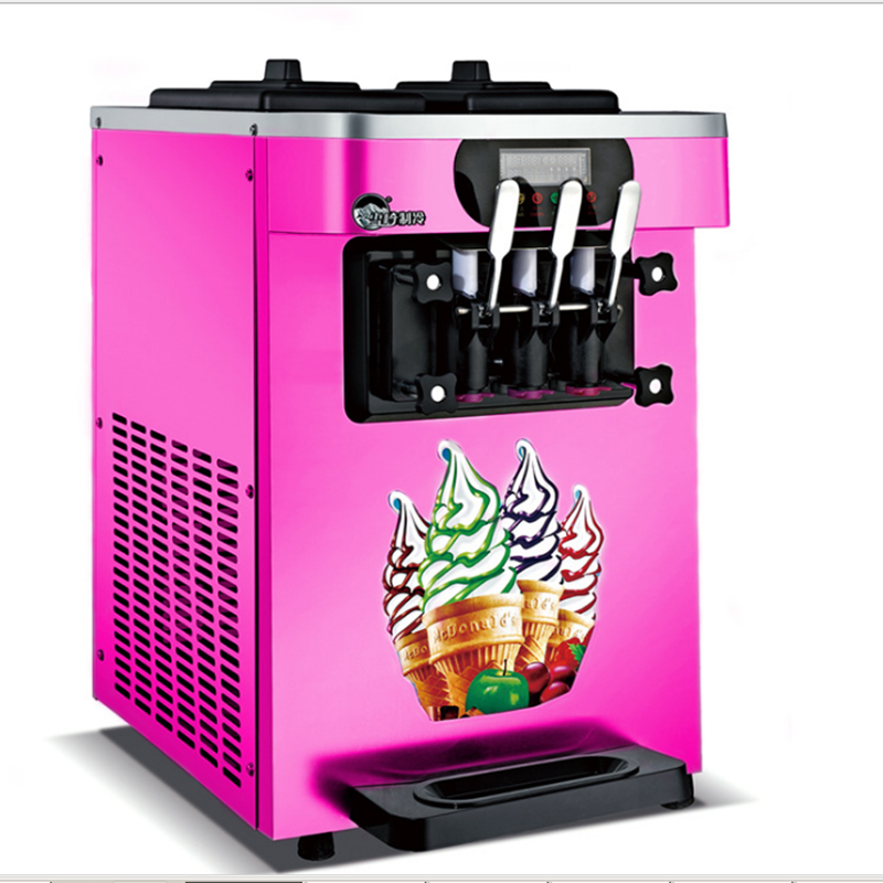 Commercial Soft Ice Cream Machine Sweet Cone Ice Cream Maker Yogurt Ice Cream Machine 1600W  HS-18X edtid new high quality small commercial ice machine household ice machine tea milk shop