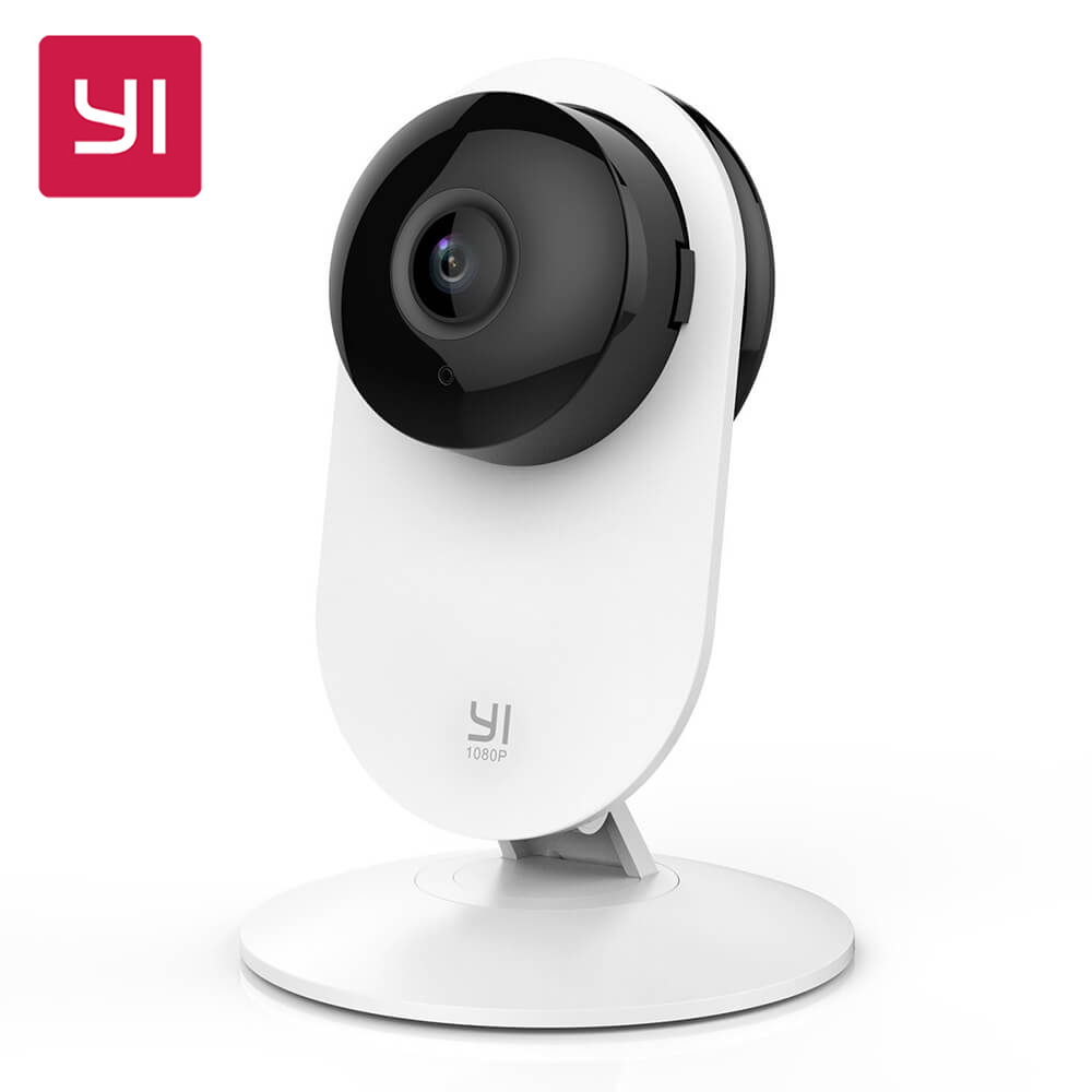 [EU/US Edition]YI 1080p Home Camera WIFI Wireless IP Surveillance System Xiaoyi YI Security Mini Camera 3D Noise Reduction wireless smoke fire detector for wireless for touch keypad panel wifi gsm home security burglar voice alarm system