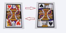 3 pcs/lote automatique Three Card Monte ( q, K ) ( 28 * 42.5 cm ) – des tours de magie, Classique, Illusions, Street magic, Fun, Spectacle de magie, Tour du parti