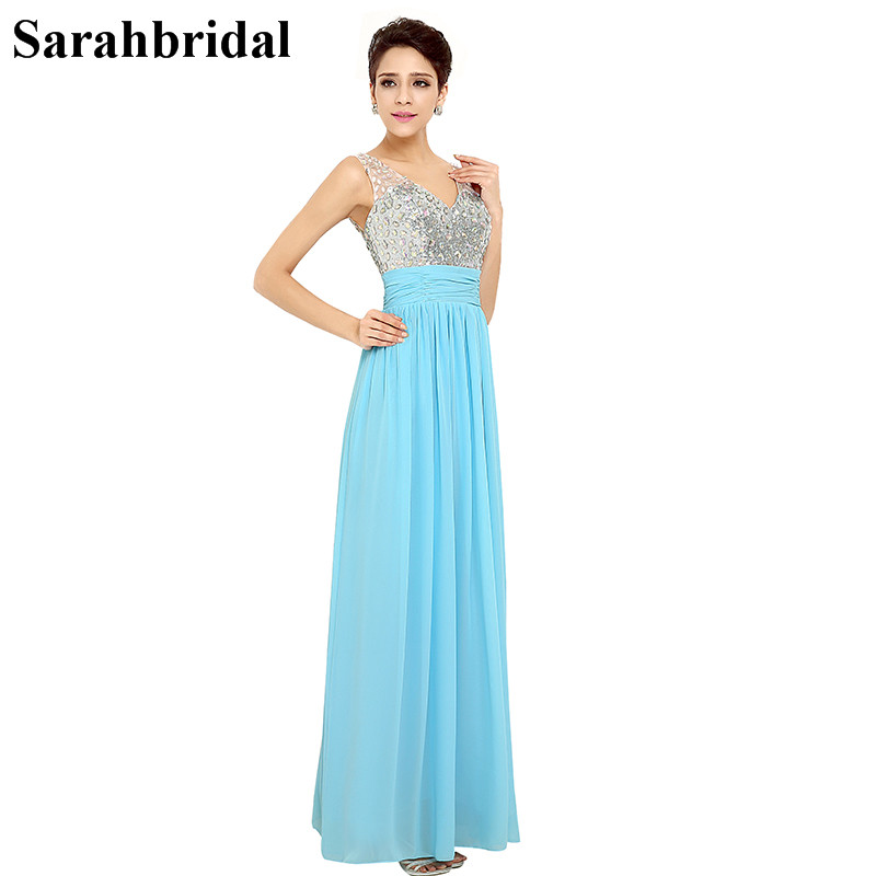 Charming Ever Pretty Prom Dresses 2017 With A Line Sexy V Neck Sleeveless And High Quality
