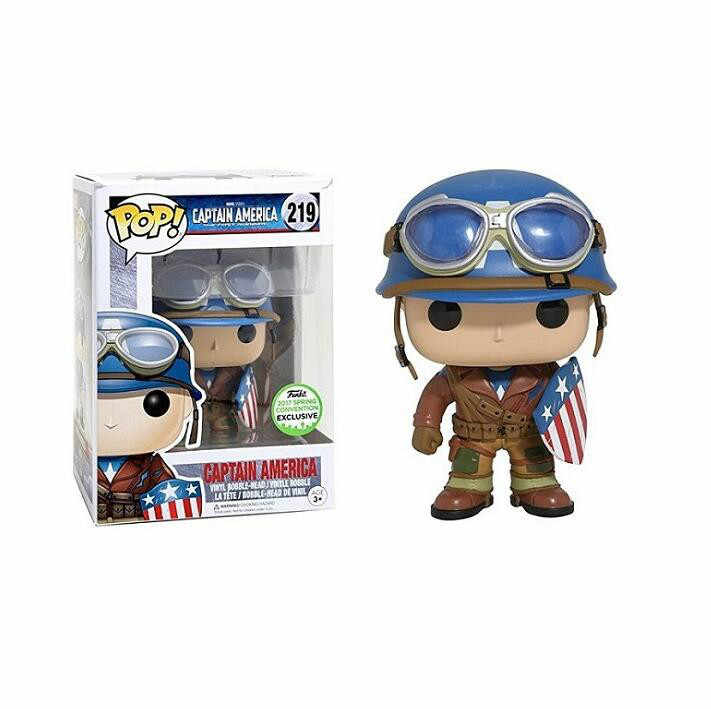 FUNKO Pop CAPTAIN AMERICA Model Figure Collectible Model Toy Action Figure Kids Boy Doll Toy