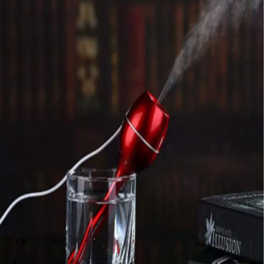 USB Air Humidifier Mini Led Humidifier USB Homehold Air Purifier Mini Humidifier Essential Ultrasonic Water Mist For Home Office