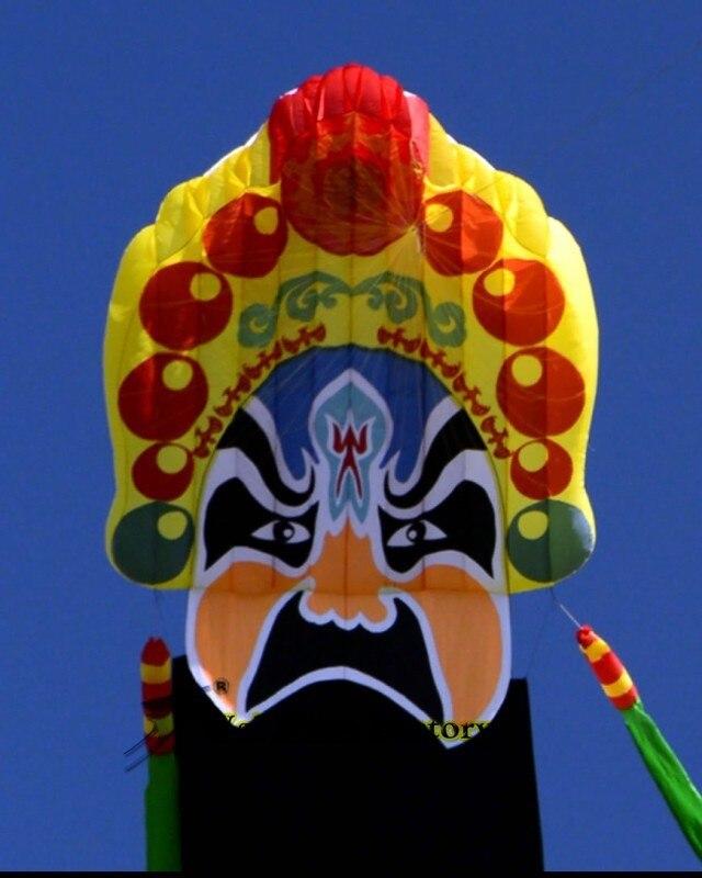 Высокое качество 20 m Пекинская опера мягкий кайт Открытый fun Спорт 4,2x20 м большой китайский традиционный воздушный змей параплан Вэй
