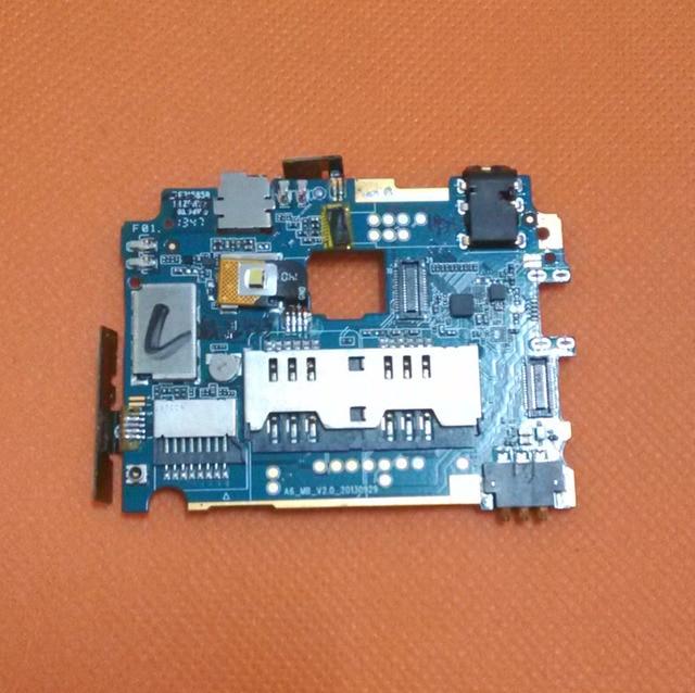 "Usado Original mainboard 1G RAM + 4G ROM Motherboard para Jiayu G3C MTK6582 Quad Core 4.5 ""HD 1280x720 Frete grátis"