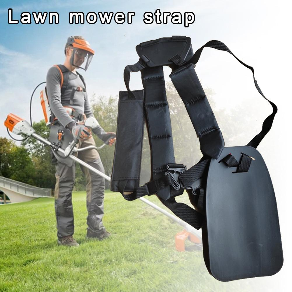 Black Lawn Mower Shoulder Strap For Strap Grass String Trimmer Brush Cutter Belt Lawn Mower Shoulder Harness Strap