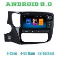 8 Octa core px5 Android 8,0 автомобиля dvd gps плеер для Mitsubishi outlander 2013 2017 с 4G Оперативная память, Wi Fi, 4 usb Авто мультимедиа