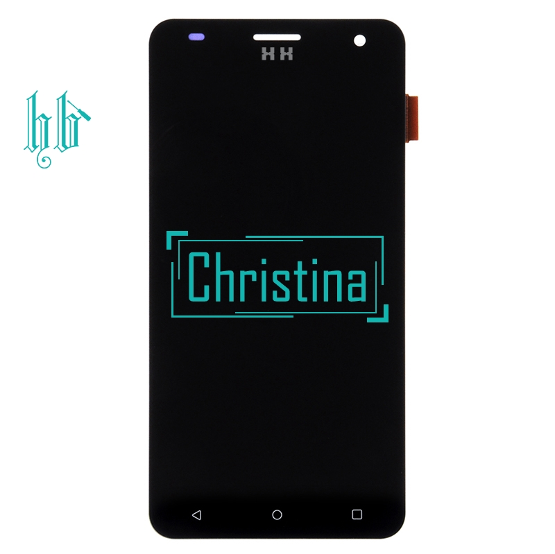 1Pcs Black Lcd Display For Fly FS504 Cirrus 2 Lcd Screen Display With Touch Screen Digitizer Assembly Free Shipping With Tools