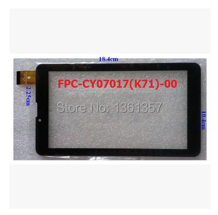 New 7 inch tablet capacitive touch screen FPC-CY07017(K71)-00 free shipping