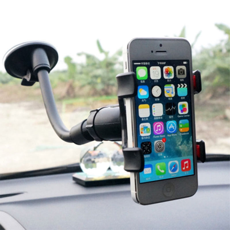 Universal Windshield Car Phone Stand Support Suction Cup Stent Mount Window Stick Smartphone Cell Mobile Phone Holder For Iphone
