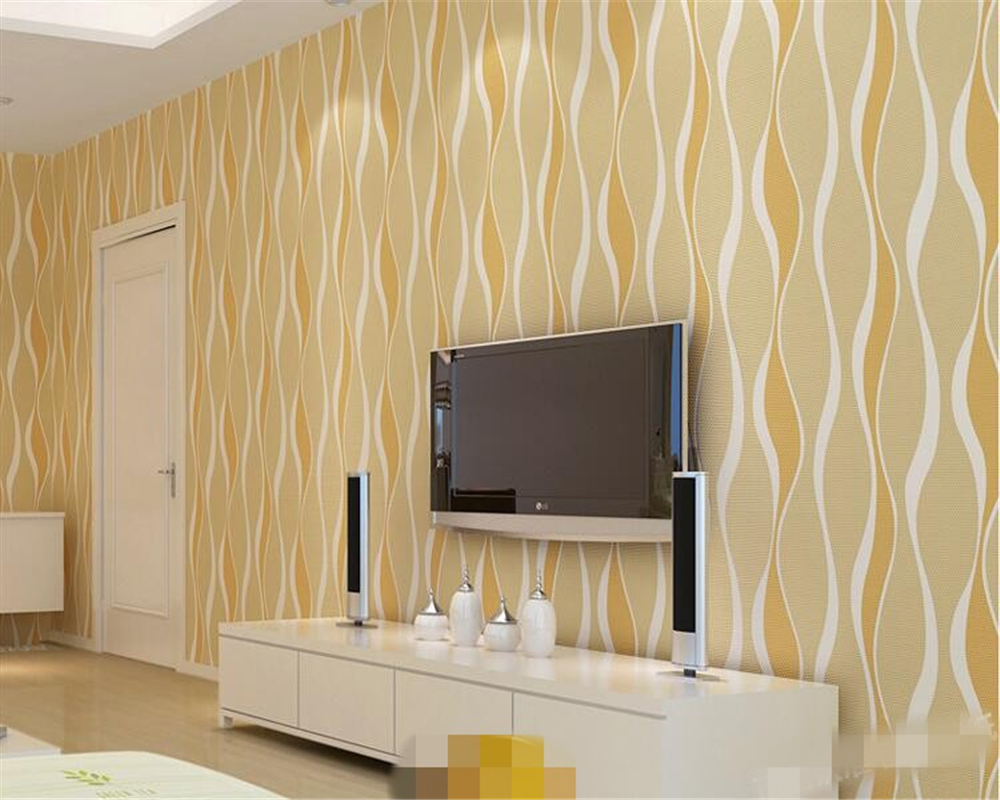 beibehang papel de parede Modern simple three-dimensional wave striped non woven living room bedroom TV background wallpaper beibehang southeast asia style elephant giraffe non woven living room bedroom bedside background wallpaper papel de parede