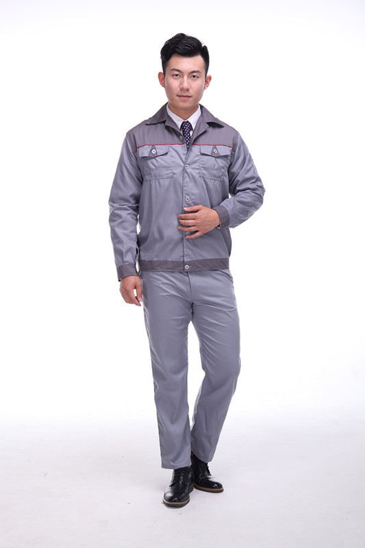 Unisex Long/Short Sleeves Workshop Clothes Zipper Jacket Engineering Auto Repair Service Work Wear Uniforms Coats Pants Set