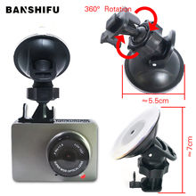 Dash Cam Mirror Mount Yi Dash Cam Mount Holder Mounting the DVR 360 Degree Rotating Car DVR Holder Mount for Xiaomi yi цена