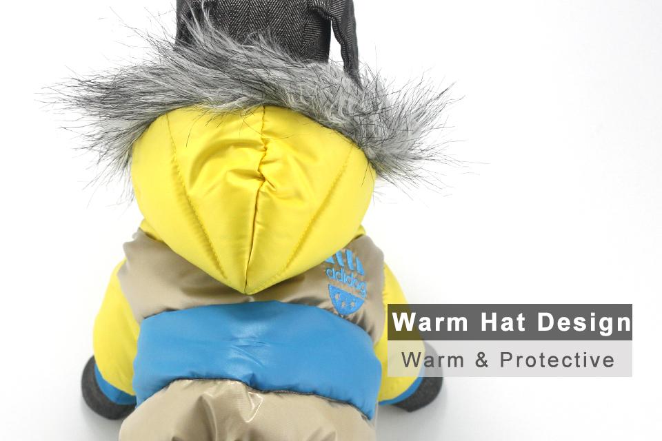 Chaqueta impermeable de invierno para perro 33