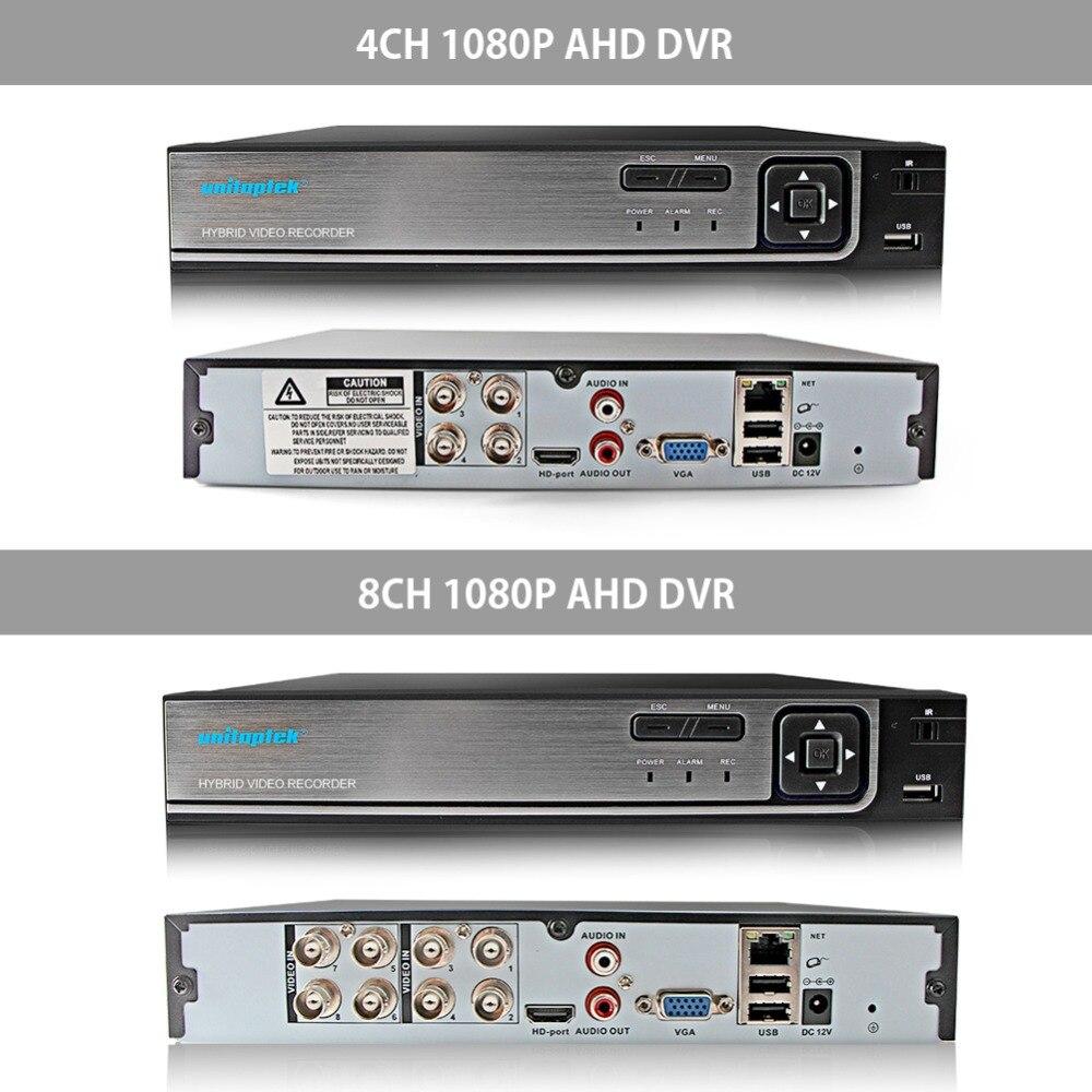 4CH 1080 P AHD DVR sistema de Video vigilancia con 4 piezas 2000TVL 2MP seguridad AHD cámaras al aire libre casa de seguridad CCTV kit de cámara - 3