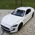 Gift for boy 1:32 15.5cm cool Maserati sports car delicate vehicle creative alloy model acousto-optic pull back game toy
