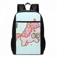 Sanrio Backpack Sanrio Pony Backpacks Street Multi Function Bag High quality Print Teenage Man Woman Trending Bags