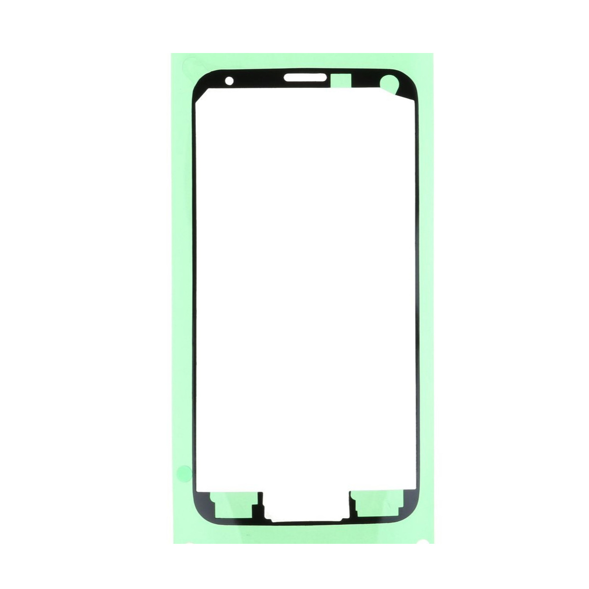 10pcs/lot Front Housing Frame Adhesive Sticker For Samsung Galaxy S5 G900 G900F