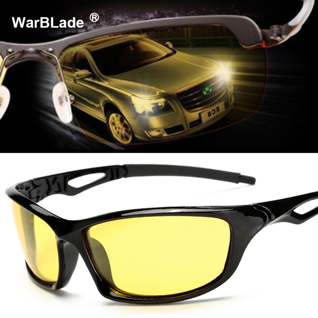 9af34c21b6b Night Vision Glasses For Headlight Polarized Driving Sunglasses Yellow Lens  UV400 Protection Night Eyewear for Driver 2018 Hot