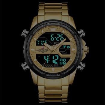 NAVIFORCE Men's Waterproof Top Brand Luxury Casual Quartz Watches 1