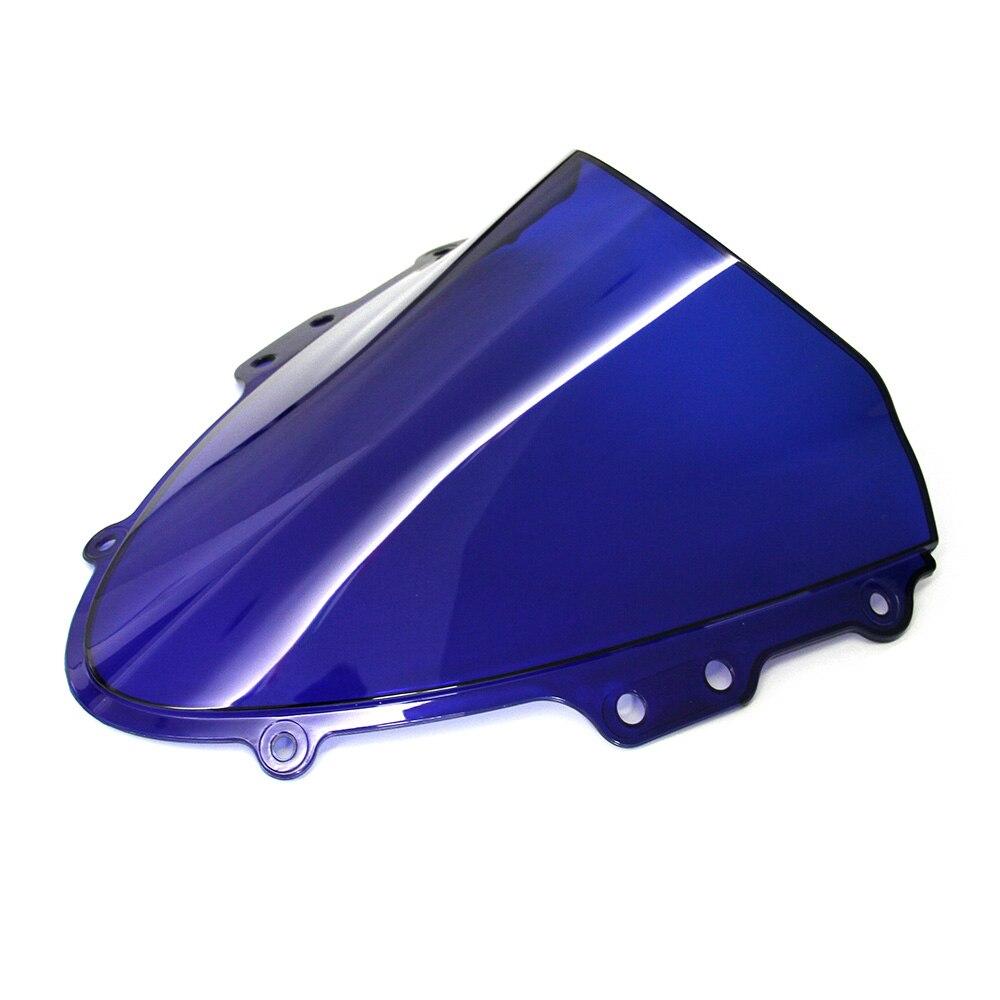 Motorcycle Blue Windshield / Windscreen For Suzuki GSXR GSX R 600/750 K4 2004 2005