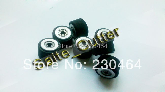 3 Pcs HQ Pinch Rollers For Mimaki Vinyl Cutter Plotter Cutting Plotter 4x10x14mm Free Shipping To USA