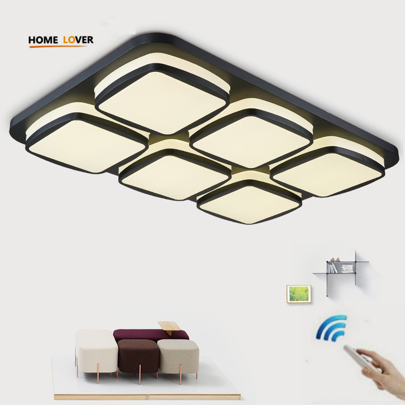 Surface Mounted Modern Led Ceiling Lights For Living Room Bedroom Kitchen Light Fixture Indoor Lighting Home Decorate Lampshade