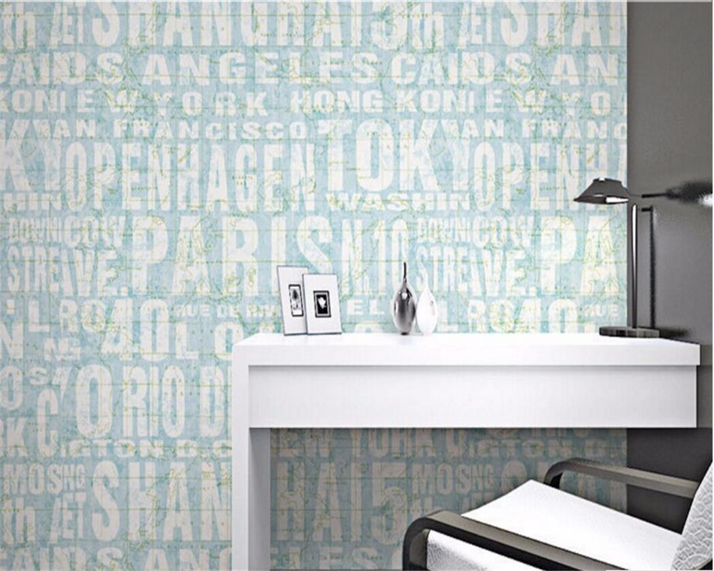 Beibehang 3d wallpaper Fashion clothing store wallpaper sitting room sofa English letters home decoration 3D wallpaper tapety beibehang 3d wallpaper fashion clothing