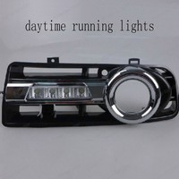 fit for V/olkswagen G/olf 4 1998 2005 Car Accessories ABS headlight cover light front fog Lamp cover