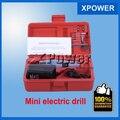 Mini Drill Set Mini Kit Amoladora Taladro Micro-perforación de Rectificación Eléctrica Del Juego para el envío libre