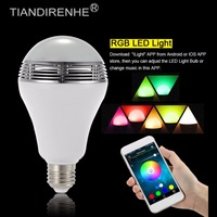 2016 TS D03 Wireless Bluetooth Speaker 2 In 1 Smart Bluetooth Speaker Music Light Bulb With