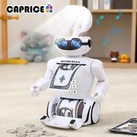 Electronic Piggy Bank Safe Robot Cash Box Saving Money Box Deposit Coin Save Bank For Children Kid Toy intellige Alcancia C Jqr
