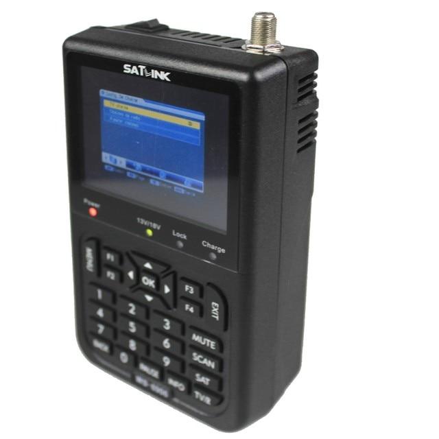 "Anewish Original Novo Satlink WS-6906 DVB-S FTA C & Banda KU Digital Satellite Finder Medidor lcd de 3.5"""