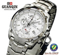Hombres de cuarzo reloj deportivo marca guanqin relojes cronógrafo impermeable luminoso impermeable al aire libre multifunción relojes deportivos