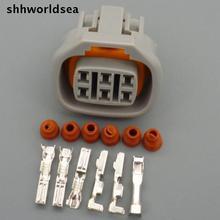 shhworldsea  6P 1JZGTE Idle Air Control Valve Connector IAC Engine Speed ISCV Wire Case For Toyota 1JZ 2JZ Lexus