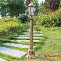 Venta Iluminación led impermeable para jardín al aire libre 220 v villa patio Parque césped lámpara de