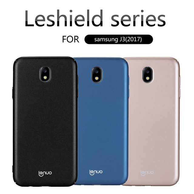newest c2692 d51a6 US $4.99  for Samsung Galaxy J3 Pro 2017 case Lenuo Ultra thin shell Back  Cover for Samsung Galaxy J3 2017 J330F Hard phone cases-in Fitted Cases  from ...