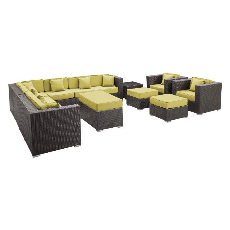 gran conjunto de ratn sof del saln junto a la piscina utiliza muebles de exterior