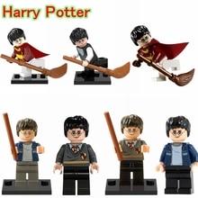 Harry Potter DIY blocks Single Sale Magic Wand Super Hero Harry Potter Building Blocks & Models Good Gift For Kids XH371(China (Mainland))