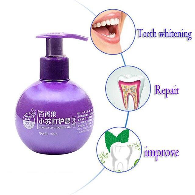 משחת שיניים המסייעת לדימום בחניכיים מנקה ומלבינה  1