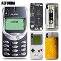 面白いソフト Tpu ケース Iphone 5 7 8 プラス X 6 6 4S 5 5 S 、 SE ビールゲームボーイ電話バッテリークリア iphone XS