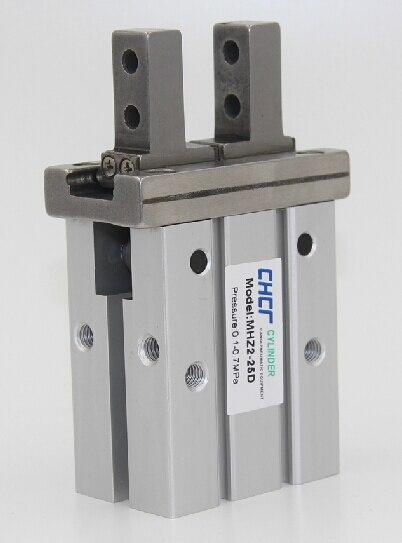 MHZ2-25D parallel finger cylinder manipulator small pneumatic finger of small pneumatic cylinder mhz2 20d parallel finger cylinder manipulator smc type pneumatic finger cylinder