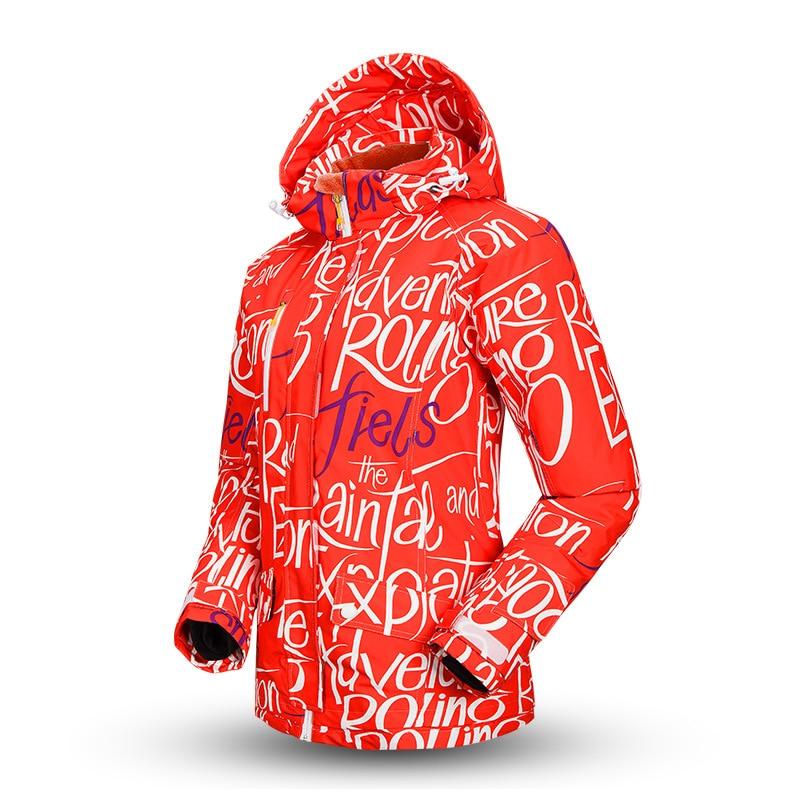 Winter Ski font b Jacket b font font b Women b font Warm Waterproof Snow Clothes