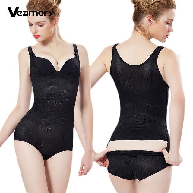 73034579ea8f5 VEAMORS Dropshipping Women Slimming Underwear Bodysuit