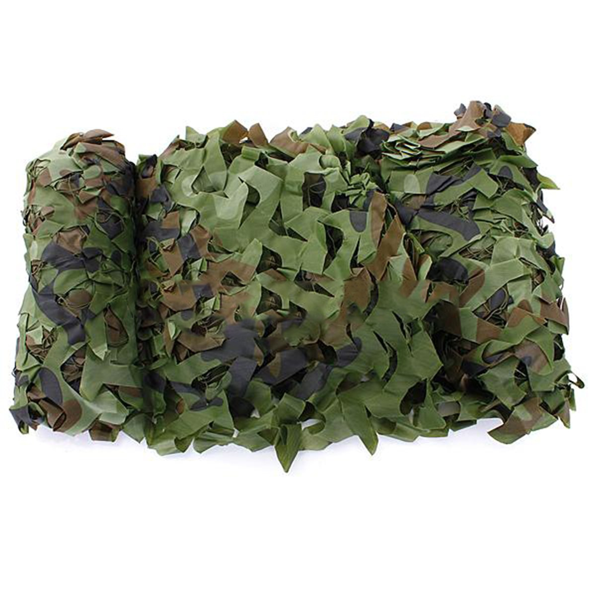 5M x 1.5M <font><b>Outdoor</b></font> Sun Shelter Net CAMOUFLAGE Netting Hunting Woodland Jungle Tarp <font><b>Car</b></font>-covers <font><b>Tent</b></font> Jungle Shelter image