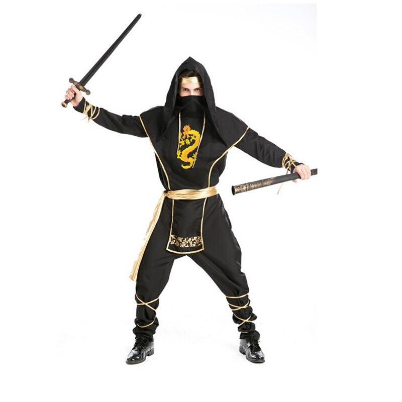 Halloween Role Playing Ninja font b Clothing b font Killer Outfit of font b men s