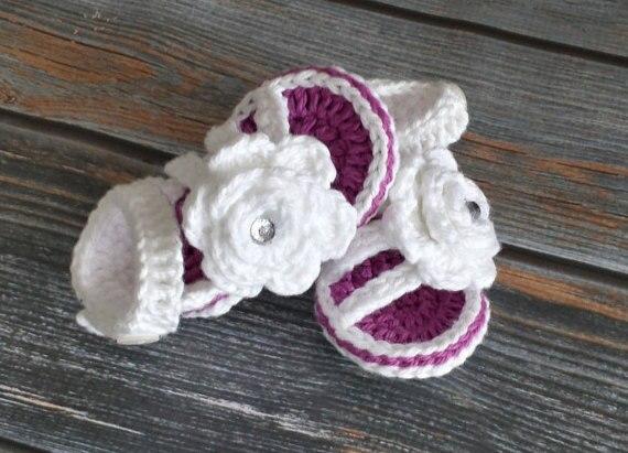 Mädchen Sandalen Häkeln Baby Sandalen Kleinkind Mädchen Schuhe Baby